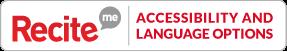 Recite Me accessibility options