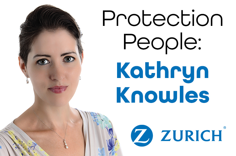 Kathryn interviewed for Zurich's Protection People