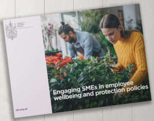 Engaging SMEs in employee wellbeing and protection polices report – now LIVE!