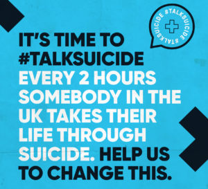 Cura become ambassadors for the #TalkSuicide campaign